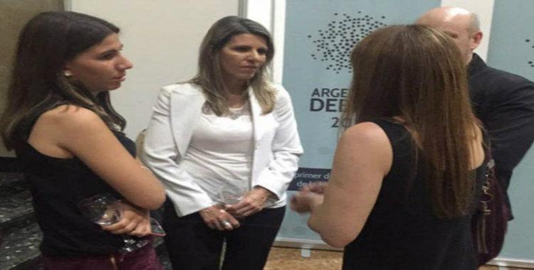 La jueza Arroyo de Salgado y su hija presenciaron el debate | El Diario 24