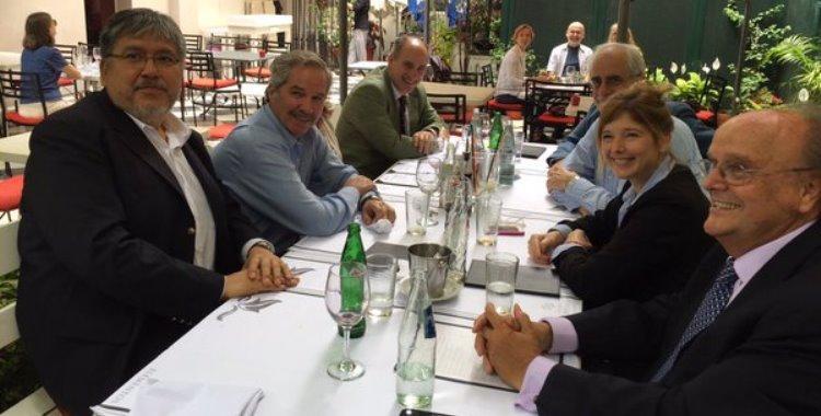 Dirigentes sciolistas y massistas compartieron un almuerzo por el Día del Militante   El Diario 24