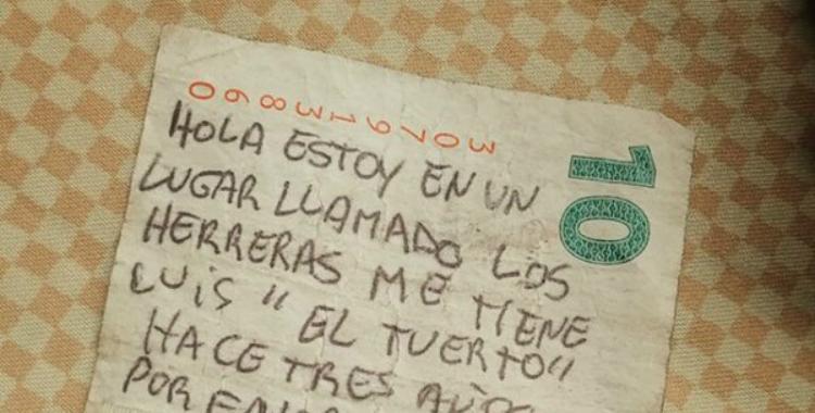 Un misterioso mensaje escrito en un billete está siendo investigado   El Diario 24