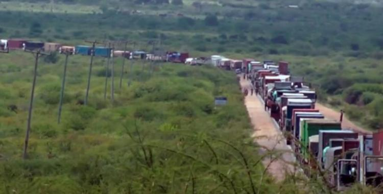 En Kenia hace tres días que hay un embotellamiento | El Diario 24