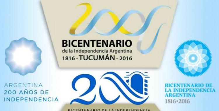 Conocé los cuatro logos que tendrá el Bicentenario de la Independencia | El Diario 24