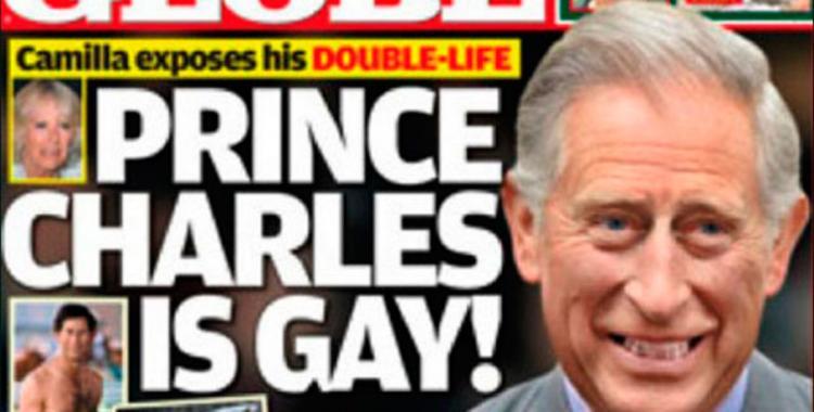 El príncipe Carlos, a los besos con un hombre | El Diario 24