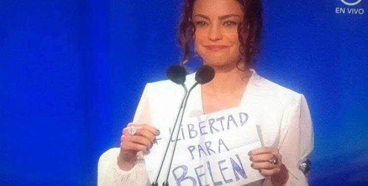 Dolores Fonzi y un pedido de libertad en medio de los Premios Platino   El Diario 24