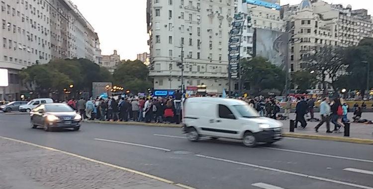 Escasa convocatoria en la marcha a favor del gobierno   El Diario 24