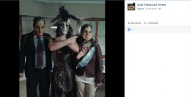 Despidieron al funcionario PRO que publicó una foto apuntando con un arma a Cristina | El Diario 24