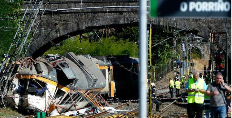 Descarriló un tren en España y dejó un saldo de al menos cuatro muertos | El Diario 24