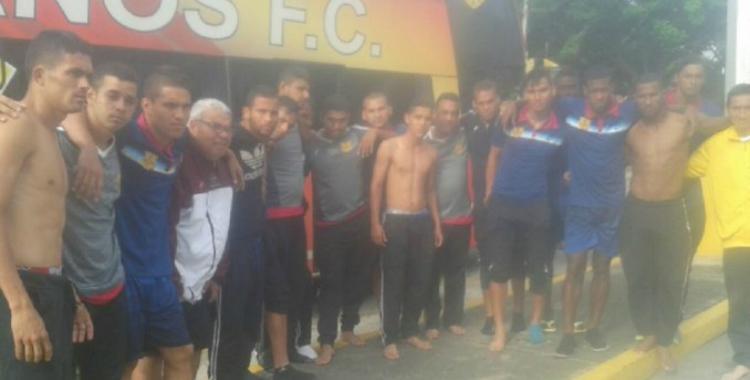 Un plantel de fútbol completo sufrió un secuestro express en Venezuela   El Diario 24