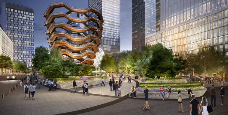 Vessel: la superestructura con escaleras en el centro de Nueva York | El Diario 24