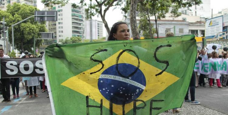 Río de Janeiro en quiebra: vecinos hacen colectas para abastecer a la comisaría | El Diario 24