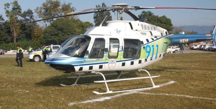 Manzur y Amado firmaron el decreto para comprar el nuevo helicóptero | El Diario 24