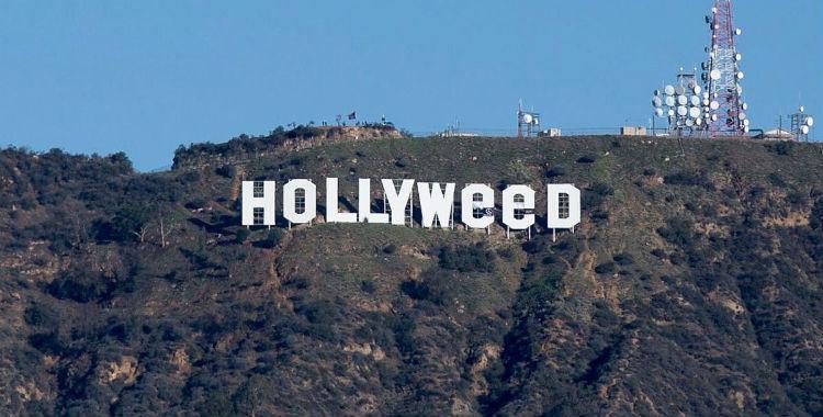 Hollyweed: bromistas modificaron el cartel de Hollywood | El Diario 24