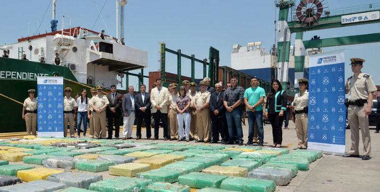 Operativo Narco Buque: secuestran 10.360 kilos de marihuana   El Diario 24