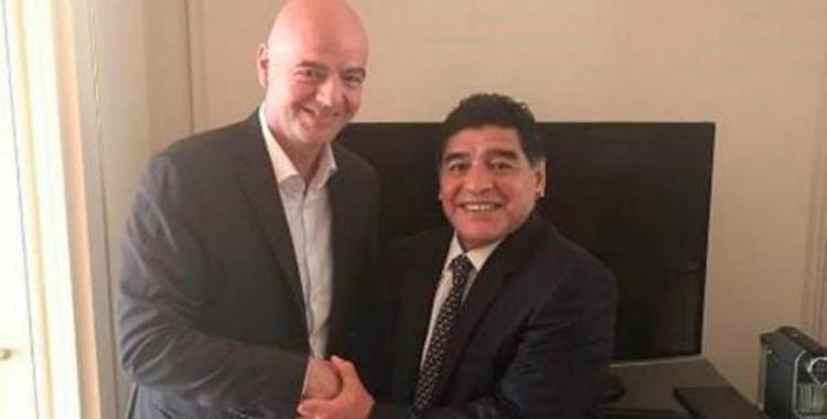 Maradona será el encargado de entregar el premio The Best al mejor DT | El Diario 24