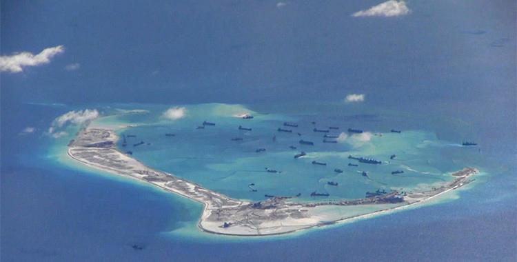 """Un diario chino advierte que si EE.UU. quiere bloquear las islas artificiales, librará """"una guerra""""   El Diario 24"""