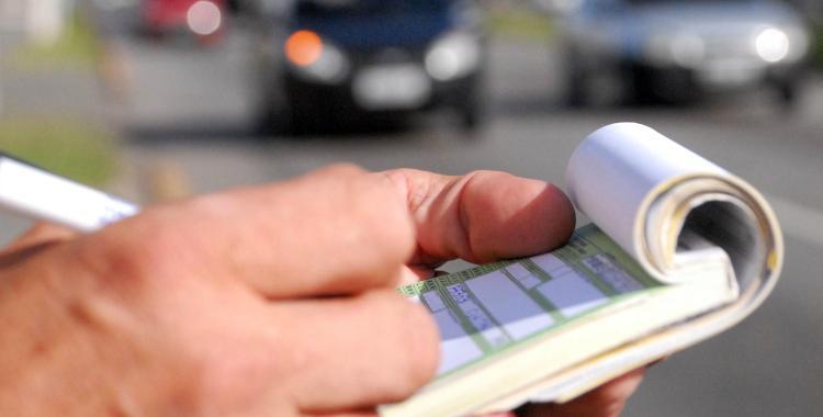 En Argentina se realizan 133 multas de tránsito por día | El Diario 24