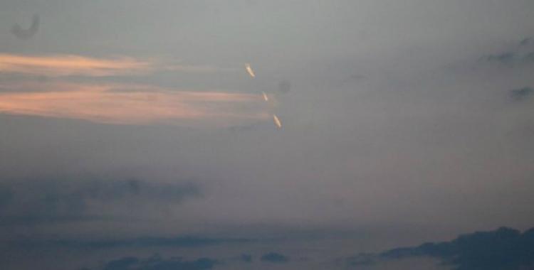 Extrañas luces en el cielo fueron vistas en Necochea | El Diario 24