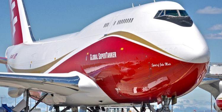 #SuperTanker: El avión contra incendios más grande del mundo llegó a Chile   El Diario 24