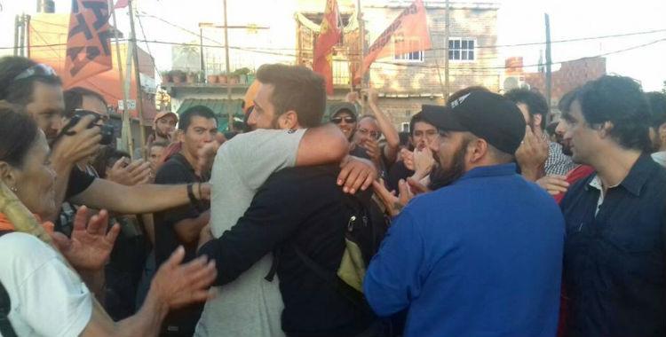 La lucha de los trabajadores bloqueó la salida del diario Clarín   El Diario 24