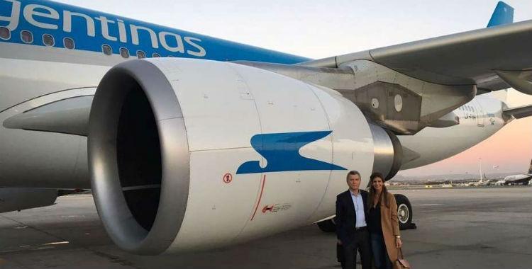 Mientras cede rutas aéreas a firmas vinculadas a su familia, Macri elogió a Aerolíneas Argentinas   El Diario 24