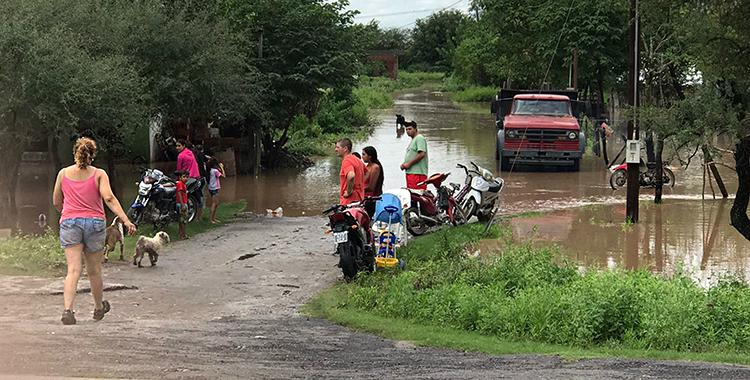 El centro de evacuados para las familias de La Madrid se instaló en la comuna de Taco Ralo   El Diario 24
