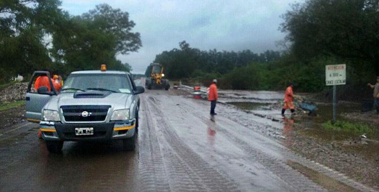 La ruta 307 está cortada por derrumbes en Las Mesadas y El Mollar   El Diario 24