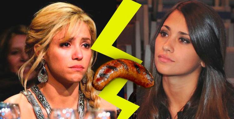 Un chorizo empeoró la mala relación entre Antonella Rancuzo y Shakira   El Diario 24