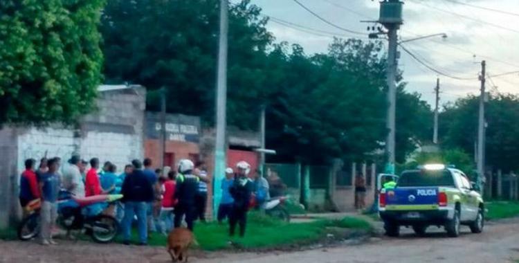 Se escapó tras balear a un hombre para robarle, y chocó con un camión   El Diario 24