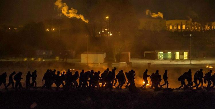 Un incendio destruyó un campo de refugiados al norte de Francia   El Diario 24