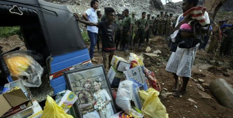 16 personas murieron aplastadas por una montaña de basura en Sri Lanka   El Diario 24