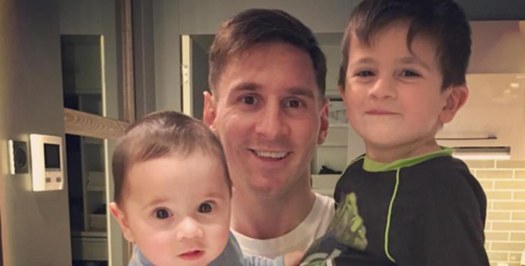 Grandes amigos: mirá el video de los hijos de Lio Messi que emociona a todos en internet | El Diario 24