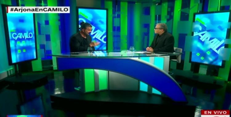 Ricardo Arjona se molestó con un conductor de CNN y se fue en medio de una entrevista   El Diario 24