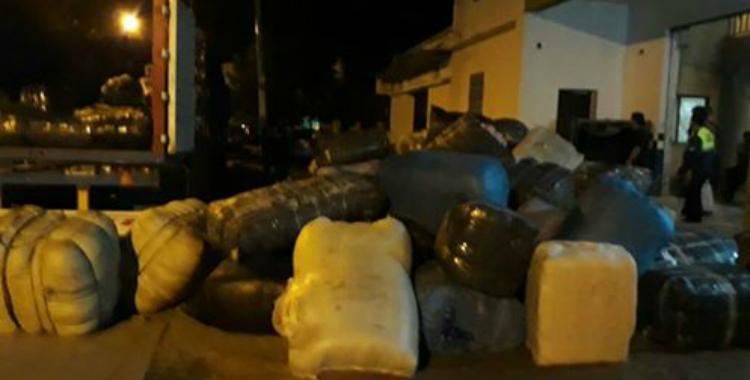 Secuestraron camiones que trasportaban $50 millones en 600 bultos de ropa | El Diario 24
