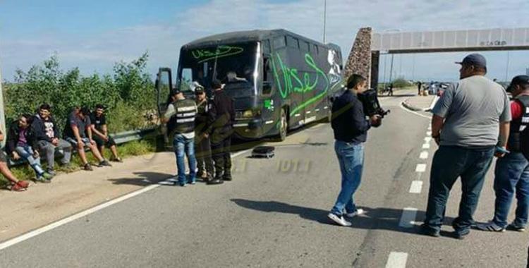 Detuvieron el colectivo de Ulises Bueno en La Rioja y encontraron droga   El Diario 24
