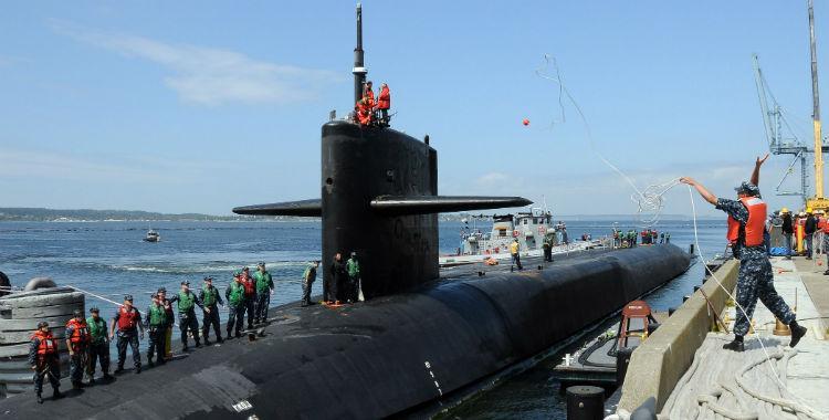EEUU envió un submarino nuclear a las costas de Corea   El Diario 24