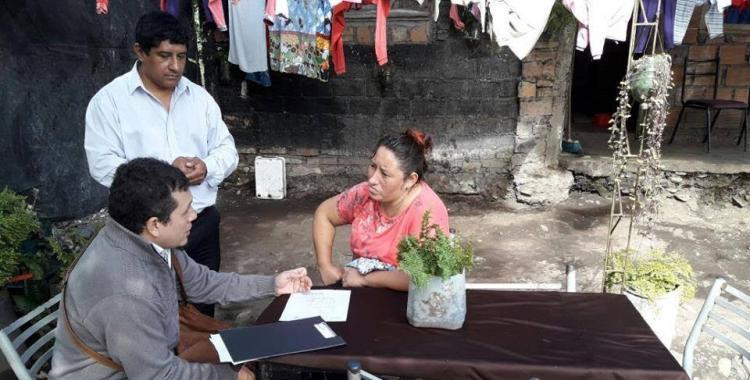 Tafí Viejo: brindan soluciones habitacionales a los vecinos de La Toma   El Diario 24