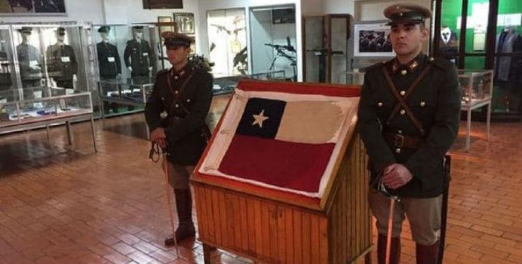 Devolverán a Chile una bandera capturada en 1965 | El Diario 24