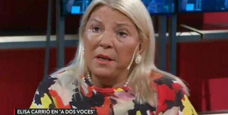 Carrió respaldó la prisión domiciliaria para represores mayores de 75 años | El Diario 24