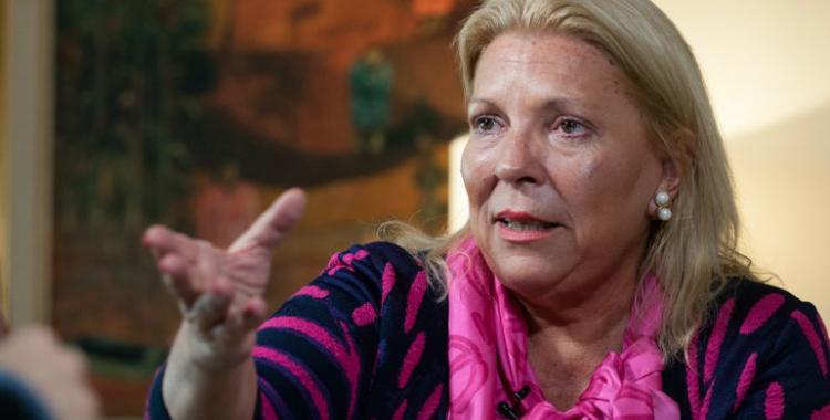 Carrió asegura que quien la denunció por enriquecimiento ilícito cobró $1.500 para hacerlo   El Diario 24