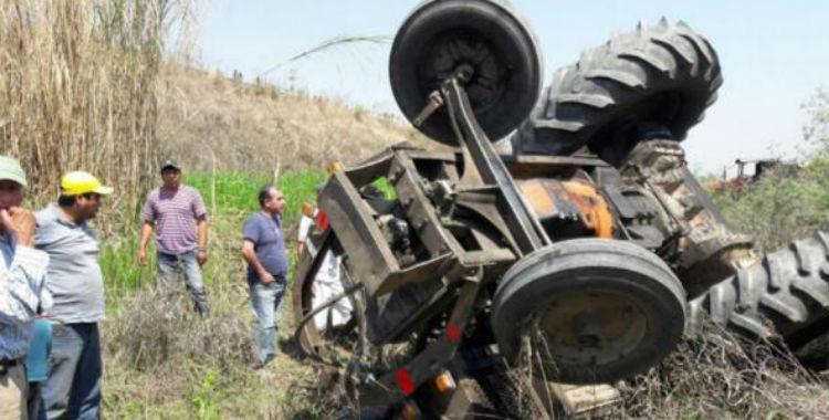 Un hombre falleció tras volcar un tractor en Los Guchea | El Diario 24