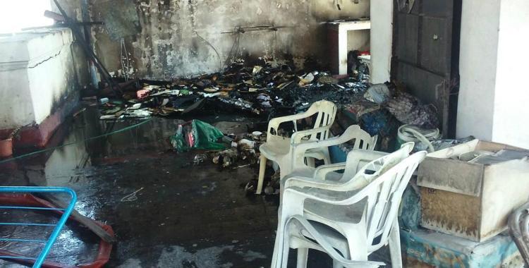 Se incendi la terraza de un edificio de 25 de mayo y for Kfc terrazas de mayo