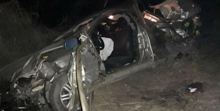Dos jóvenes murieron en un accidente automovilístico en el sur de la provincia | El Diario 24