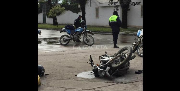 Yerba Buena: Un choque entre una camioneta y una moto dejó un herido muy grave | El Diario 24