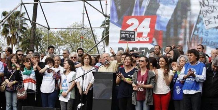 Masiva movilización en el centro porteño antes del paro general | El Diario 24