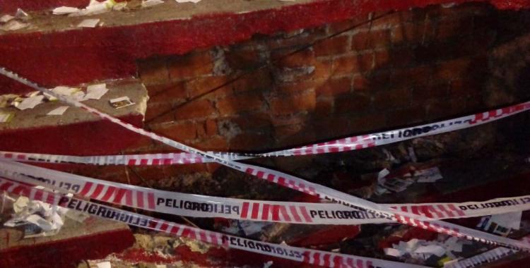 Clausuran la cancha de San Martín por el derrumbe en una tribuna | El Diario 24