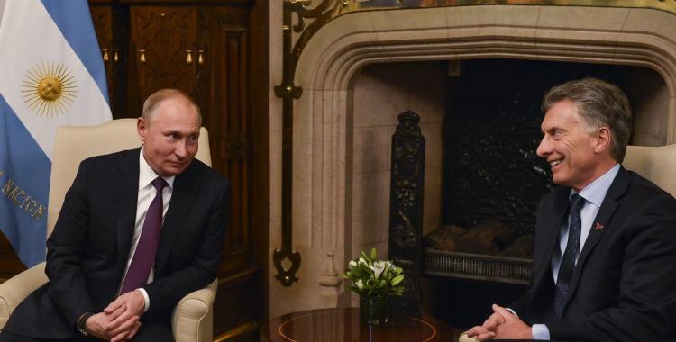 Macri y Putin anunciaron la firma de acuerdos de cooperación   El Diario 24