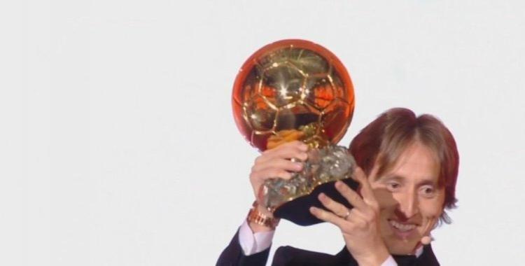 Luka Modric se alzó con el Balón de Oro 2018   El Diario 24