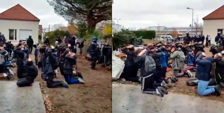 Más de 700 estudiantes fueron detenidos en París | El Diario 24