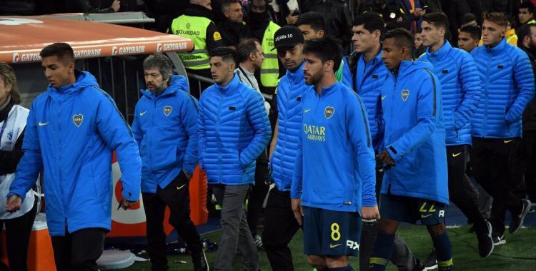No podemos hablar, dijeron los jugadores de Boca en su regreso al país | El Diario 24