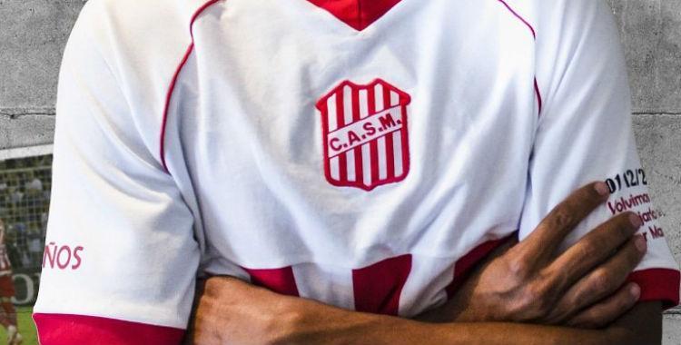 San Martín presentó una nueva camiseta con dedicatoria especial   El Diario 24