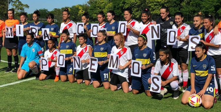 Boca le ganó a River en el clásico del fútbol femenino   El Diario 24